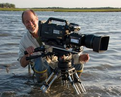"Michael Male, filmmaker/cinematographer, ""Magic Of The Snowy Owl."""