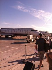 US Airways is canceling this flight from Phoenix to Guaymas, Sonora.