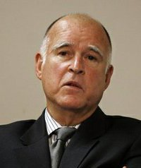 Governor Jerry Brown.