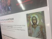 The image of Jesus Christ was used in a controversial political mailer targeting 23rd District candidate Pete Gallego.