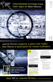 Reform New Mexico Now PAC mailer.