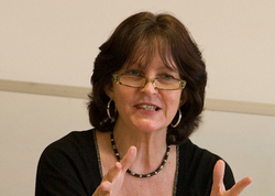Tina Beattie, a British theologian, writer and broadcaster.
