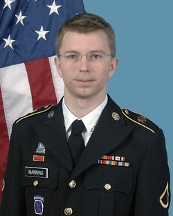 Army Pfc. Bradley Manning