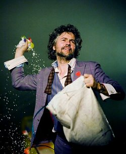 Wayne Coyne is the lead singer of The Flaming Lips. 