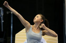 Kimiko Glenn as Yoshimi in rehearsal for La Jolla Playhouses world-premiere production of &quot;Yoshimi Battles the Pink Robots.&quot;