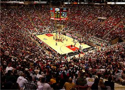The Viejas Arena at SDSU.