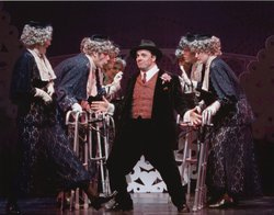 Nathan Lane as Max Bialystock in &quot;The Producers,&quot; 2001.