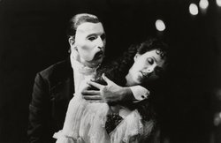 Michael Crawford and Sarah Brightman in &quot;The Phantom of the Opera,&quot; 1988. 