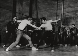 "A scene from ""West Side Story,"" 1957."