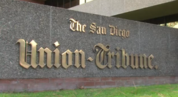 The U-T San Diego building.
