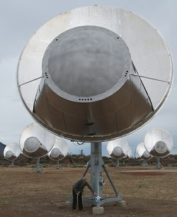 The Allen Telescope Array.
