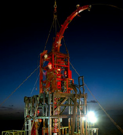 A Black Elk Energy oil rig.