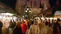 Germany's ultimate Christmas market lights up the main square in Nurnberg.