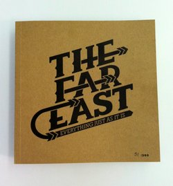 "The cover of The Far East Project's first book, ""Everything Just As It Is."""