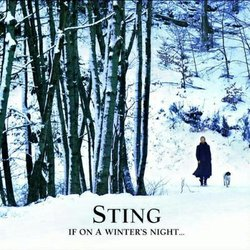 "Graphic cover of the album ""STING: If On A Winter's Night..."""