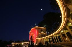 The Organ Pavilion at Balboa Park's December Nights.