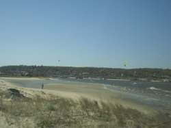 Sandy Hook beach in 2010.