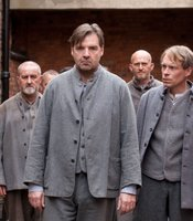 Brendan Coyle as John Bates (center) in MASTERPIECE CLASSIC &quot;Downton Abbey&quot; Season 3.