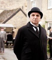 Jim Carter as Mr. Carson in MASTERPIECE CLASSIC &quot;Downton Abbey&quot; Season 3.