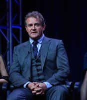 Joanne Froggatt, Hugh Bonneville and Elizabeth McGovern at TCA Press Tour. During PBS MASTERPIECE CLASSIC Downton Abbey,&quot; Season 3 session at the TCA Summer Press Tour in Los Angeles, Calif. on Saturday, July 21, 2012, MASTERPIECE executive producer Rebecca Eaton, creator, writer and executive producer Julian Fellowes, Michelle Dockery, executive producer Gareth Neame, Shirley MacLaine, Elizabeth McGovern, Hugh Bonneville, Joanne Froggatt and Brendan Coyle discuss the third season of the smash hit.
