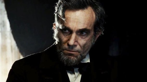 "Daniel Day Lewis stars as the title character in Steven Spielberg's ""Lincoln."""