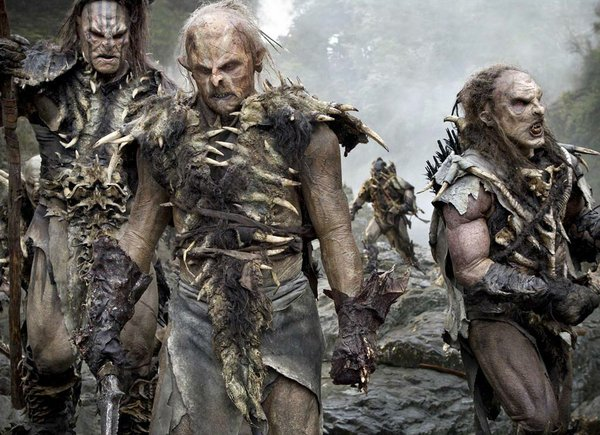 "A band of orcs from ""The Hobbit"" trilogy"
