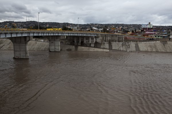 The Tijuana River, December 13, 2012.