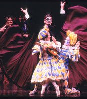 A scene from the Joffrey Ballets The Nutcracker production.