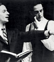 Joffrey Ballet founders Robert Joffrey and Gerald Arpino, early 1960s.