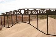 The gate leading to the river crossing into northern Mexico near the village of Boquillas, Coahuila.