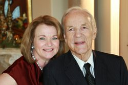Conrad Prebys and Debbie Turner, Masterpiece Trust supporters and KPBS Hall of Fame Inductees for 2012.