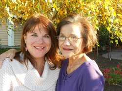 Deanna Mackey, and her mother, Connie Martin in December 2011. 