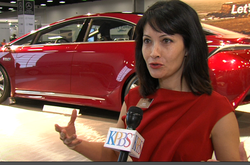 "Toyota product specialist Joyce Brew talks about the NS4, the car company's new ""concept car."""