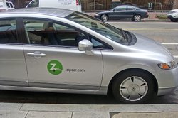 A Zipcar in Washington, D.C.