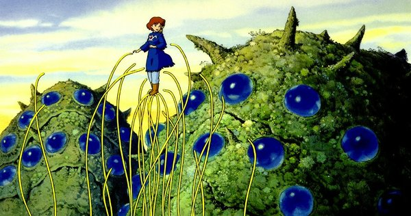 """Nausicaa of the Valley of the Wind"" is the earliest of the Studio Ghibli COllection screening as part of the retrospective."