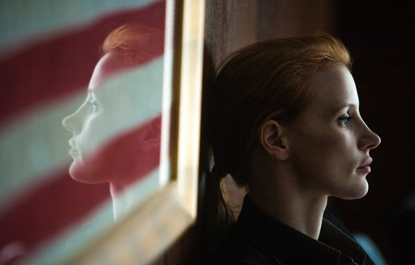 Jessica Chastain as CIA agent Maya in &quot;Zero Dark Thirty&quot;