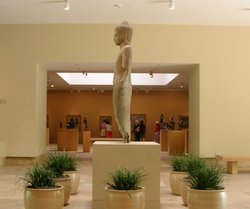 Entrance hall of the Norton Simon Museum in Pasadena, California, 2006.