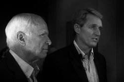 Senators John McCain and Jeff Flake of Arizona are two of the eight lawmakers brainstorming to lay the foundation for comprehensive immigration reform. 