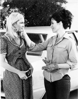 "Joan van Ark and Michele Lee on ""Knots Landing."""