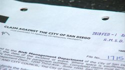 Kathy Casey's original claim against the city of San Diego for overcharging her on PBID fees.