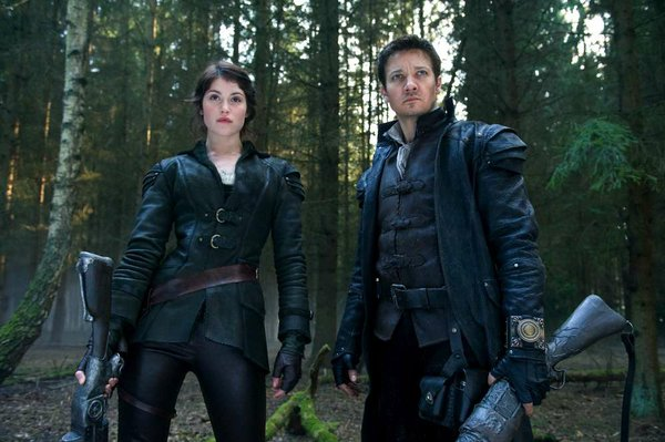 Gemma Arterton and Jeremy Renner, as the completely kick-ass orphan duo, Hansel and Gretel, in &quot;Hansel &amp; Gretel: Witch Hunters.&quot;