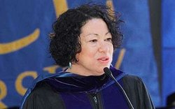 U.S. Supreme Court Justice Sonia Sotomayor. 