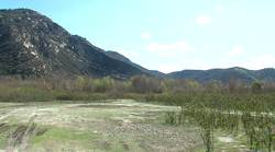 The site of the proposed Gregory Canyon landfill