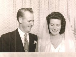 LC and Betty Sallis were married in a small chapel in Hillcrest in September 1946.
