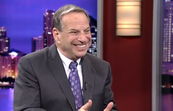 City of San Diego Mayor Bob Filner on the set of KPBS Evening Edition.