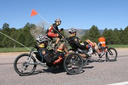 Wounded Warrior cycling.