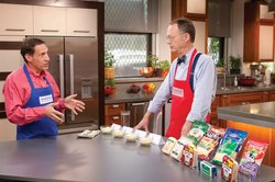 Tasting expert Jack Bishop challenges host Christopher Kimball to a tasting of mozzarella cheese.