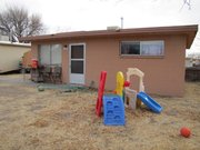 Homes like this one will be reserved for student veterans who attend New Mexico State University in Las Cruces.