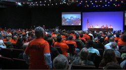 Union members at the NRC public meeting on restart plan for San Onofre, Feb 13th 2013