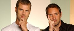 """The Book of Mormon"" creators Matt Stone and Trey Parker."